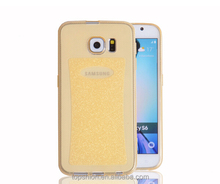 For Samsung galaxy s6 shiny tpu case cover soft casing