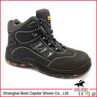 new design Cheap Industrial safety shoes with steel toe for work male