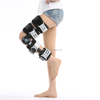 Knee rehabilitation equipment hinged Knee support brace angle adjustable knee brace