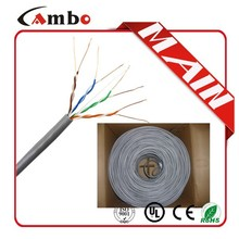 made in China LSZH/ROHS/PVC UL list ISO9001 lan cable 24awg soild bare copper CMP/CMR/CM cable lan rj45