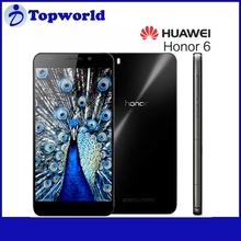 China Brand 5.5 inch Huawei Honor 6 PLUS Android 4.4.2 Octa core Max 1.8GHz Front 8.0MP Real 8.0MP 3GB RAM 16GB ROM Smartphone