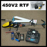 Align Topspeed 450V2 RC Helicopter RTF with AL Case (Align T-rex Compat.) Assembled