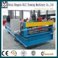 Metal shingle roll former production line with top quality for sale