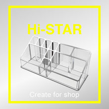 Retail opi acrylic rotating lipstick display stand/acrylic nail polish stand/rotating acrylic lipstick holder