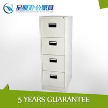 Mini mobile office 4 drawer pedestal for home use