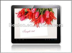 New!! android 4.0 Dual cameras 3G Phone 9.7 inch tablet pc sim card slot