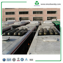 ISO11119 OD373mm 135l 250bar type 3 CNG cylinder