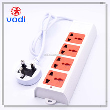 250v multiple gangs extension 13a universal socket outlet power strip