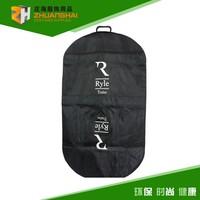 High quailty polyester oxford 1680D foldable black garment bag zhuanghai 2015