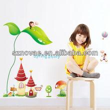 AM002 60*90cm Lovely Cartoon Design Kids Wall Decoration Removable Sticker