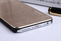 Motomo Metal Aluminum Glossy wire drawing Case For iPhone 6 Plus 5.5""