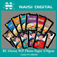 Factory supplyer 2015 inkjet waterproof glossy photo paper