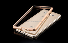 2in1 Metal+Acrylic Back Cover A3000 A5000 Phone Hybird Cases Ultra Thin Luxury Aluminum Bumper For Samsung Galaxy A5 A3 Case