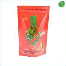 High Grade Packaging Heat Seal Resealable Plastic Zipper Bags For Food
