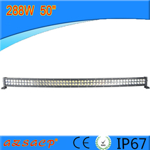 50'' 288W curved led light bar 91103