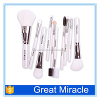 Beautiful design artificial fiber professional makeup brush set