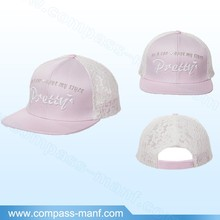 New Arrival Summer Light Color Lace Trucker Hat
