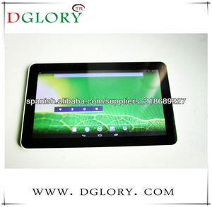 DG-TP1002 RK3168 doble núcleo 1024 * 600 1GB/8GB bluetooth 6500mAh de la PC de la tableta de 10.1 pulgadas