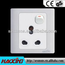 2013 hot seller 15 amp 250 volt switch socket