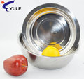 Yule 24cm 201ss de acero inoxidable bowl ramen/plato de sopa/frutas juegos de tazón