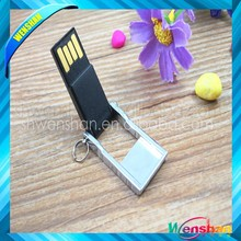 Flip metal usb flash drive, Mini usb flash,protable Usb memory disk