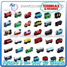 MINI QUTE around 10 cm over 50 styles thomas and friends/thomas train wooden toy for brinquedos boys baby toy NO.MQ 125