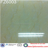 Gres porcellanato floor tiles natural stone design beige Foshan vitrified tile