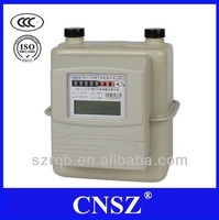 SZ-L-T series IC card Diaphragm Gas Meter with Steel case