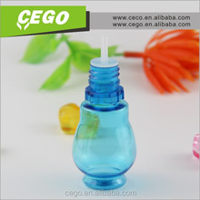 Popular unique blue self sealing bottle for perfume for women