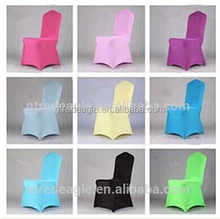 colorful spandex chair covers for various events, strong elastic chair covers for durable use