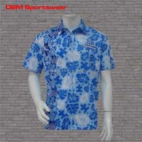 Full printing design your own custom oem hawaiian shirt
