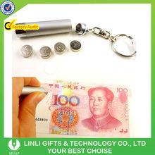 Small Powerful UV Illumination Ultraviolet Keychain Torch