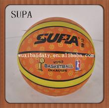 wholesale bulk cheap standard custom rubber basketballs size 7