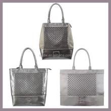 New Arrival Silver Color Series Handbags Tote Bags