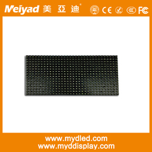 Strong body P10 single green led modules/board