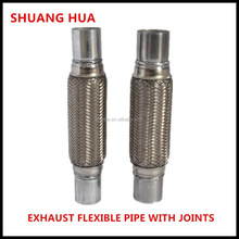 best selling exhaust flexible pipe with nipples, auto exhaust pipe, bellows with joints