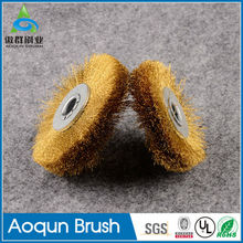 Durable stainless wire brushes for die grinder zipper