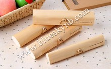 locked wooden pencil case/box (BLY16-0024WD)