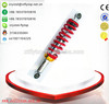 2014dirt cheap new products made in china/motorcycle steering damper/320mm red color adjustable shock absorber