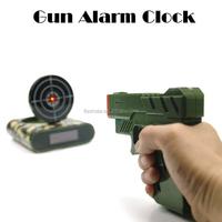 Gun O'Clock Shooting Alarm Clock