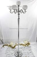 IDA wedding decor tall iron flower holder/wrought iron wedding decorations pillar/wedding flowers and pillars