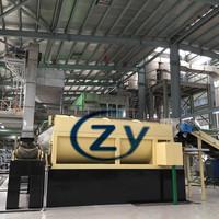 New type high efficiency saving consumption cassava rotary washer and peeler machine