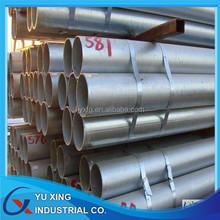 threaded galvanized steel pipe 1 1/4 inch