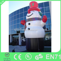 EN71/SGS/CE/UL hot selling inflatable snowman/advertising inflatable snowman decoration/inflatable snow man for Christmas decora