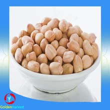 Round type raw peanuts kernel without blanched