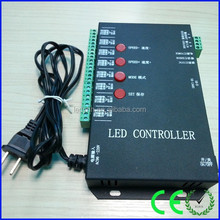 hot sale full color sd card programmable t-8000 led controller