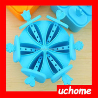 UCHOME New Arrival Best Seller Summer DIY plastic ice pop mold for kids