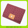 15456 China leather supplier 3 Color leather lady's wallet
