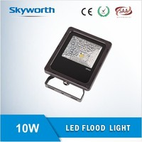 High Lumen 10W COB LED Flood Light, PF>0.95, Nichia Chip and TUV&SAA Certification with 3 Years Warranty