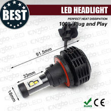 CN360 2015 g6 Auto accessories plug and play all in one car led headlight h13
